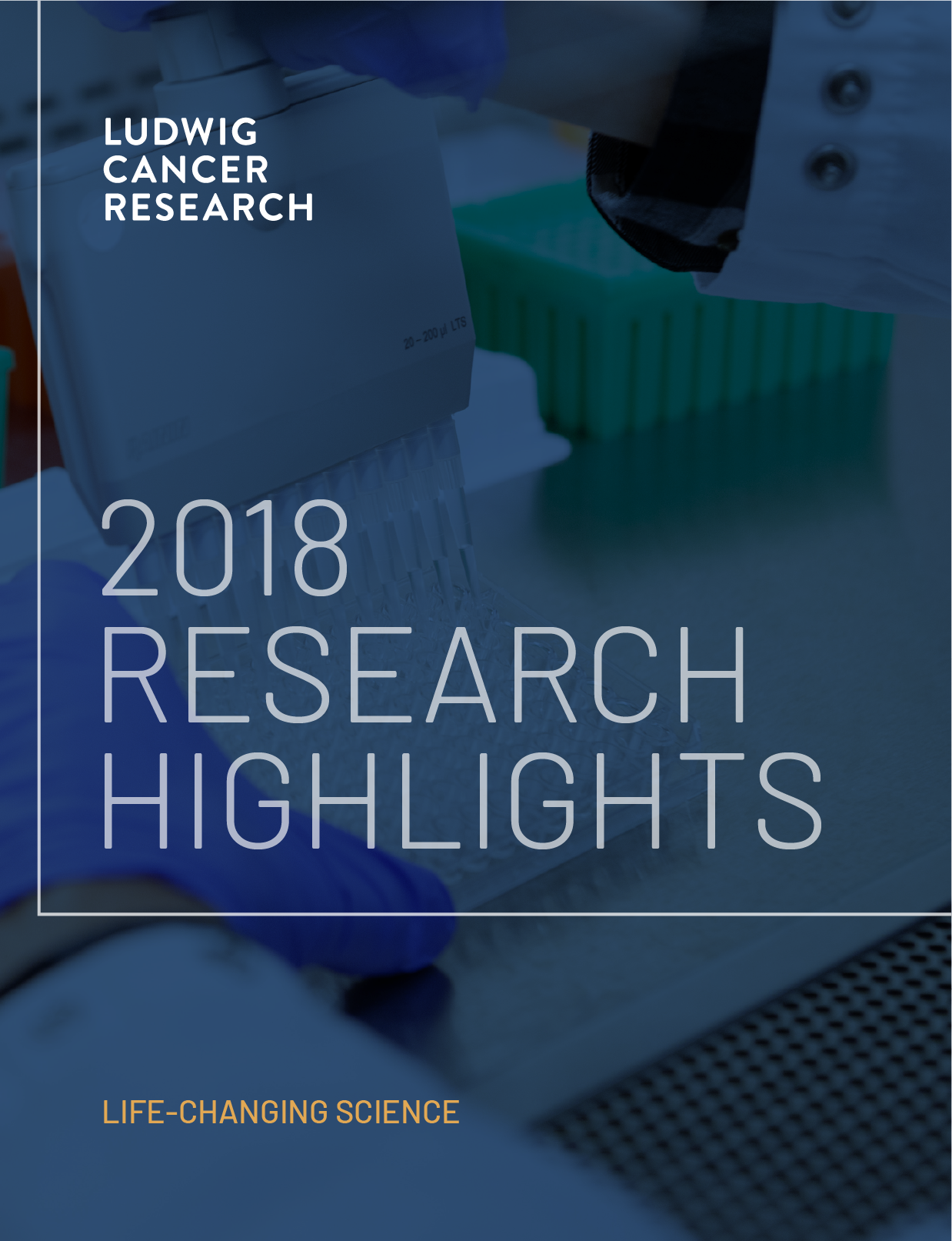 2018 Annual Research Highlights report cover