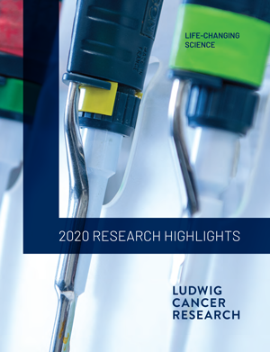 2020 Annual Research highlights cover