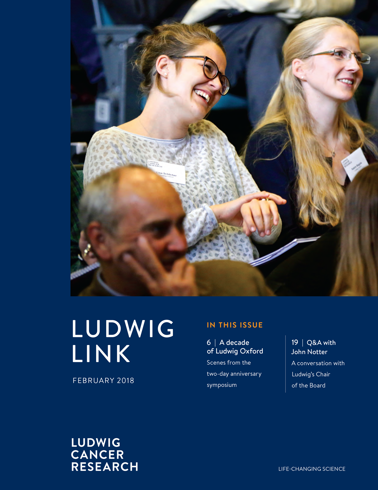 February 2018 Ludwig Link cover