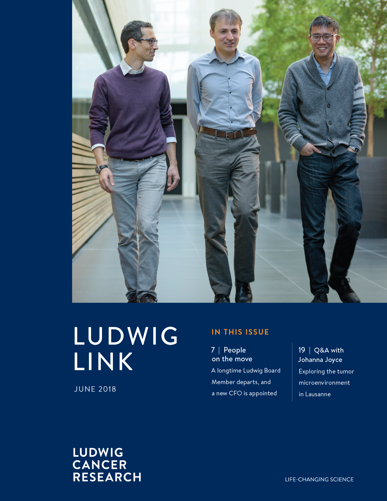 Ludwig Link June 2018 cover