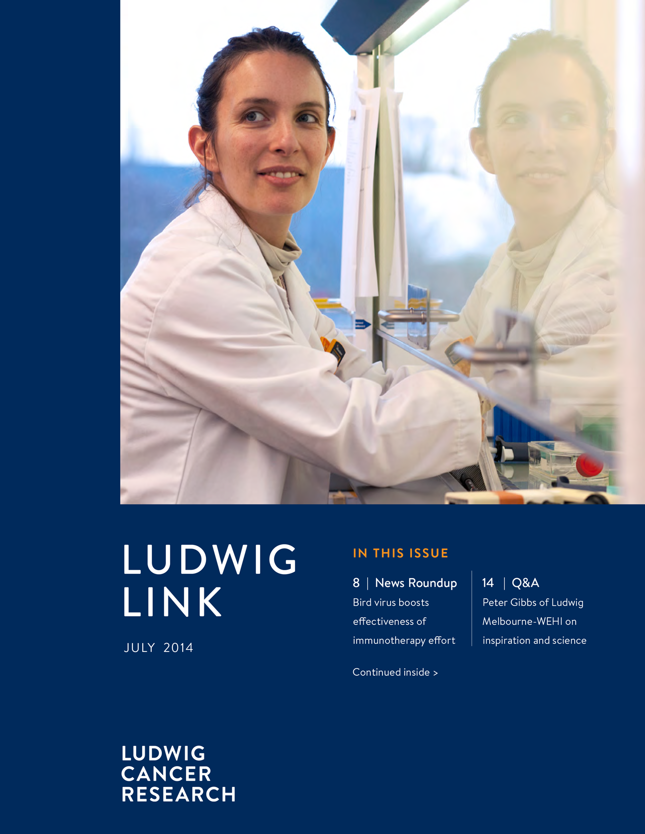 Ludwig Link July 2014 cover