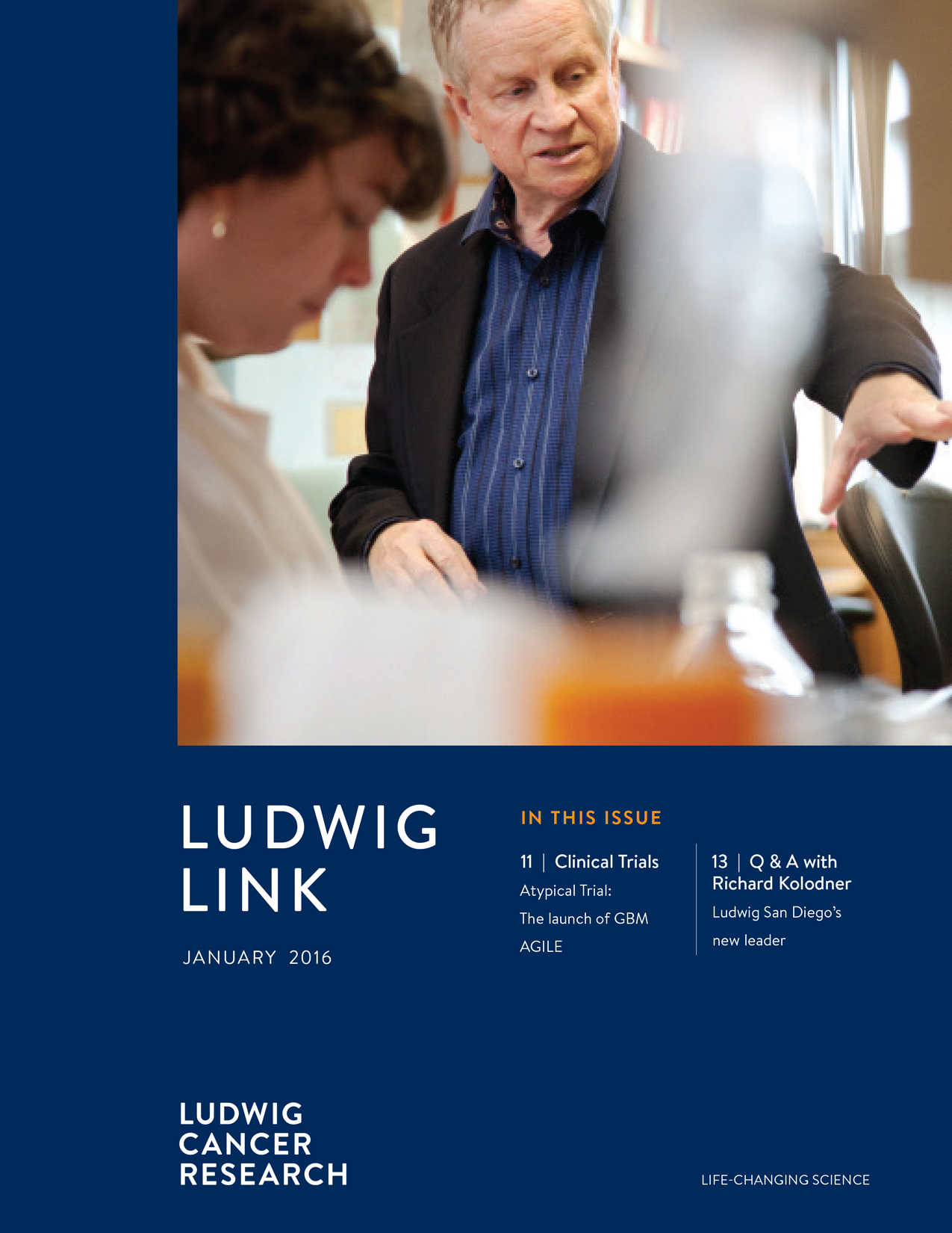 Ludwig Link January 2016 cover