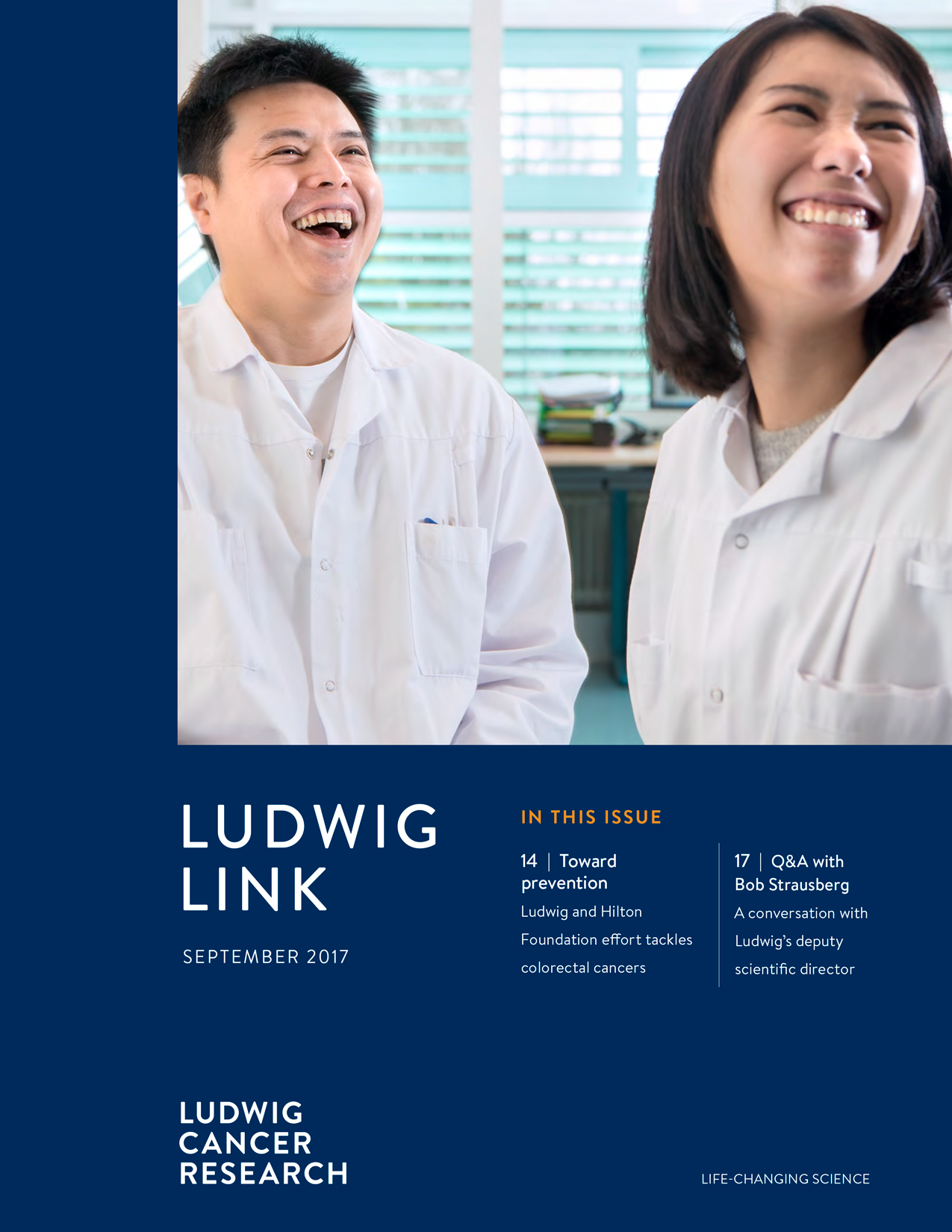 Ludwig LInk September 2017 cover