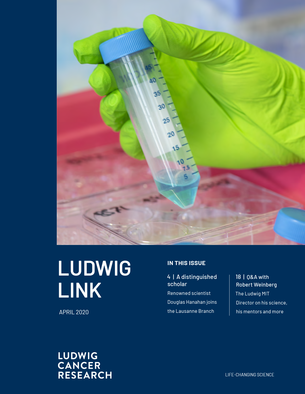 Ludwig Link April 2020 cover