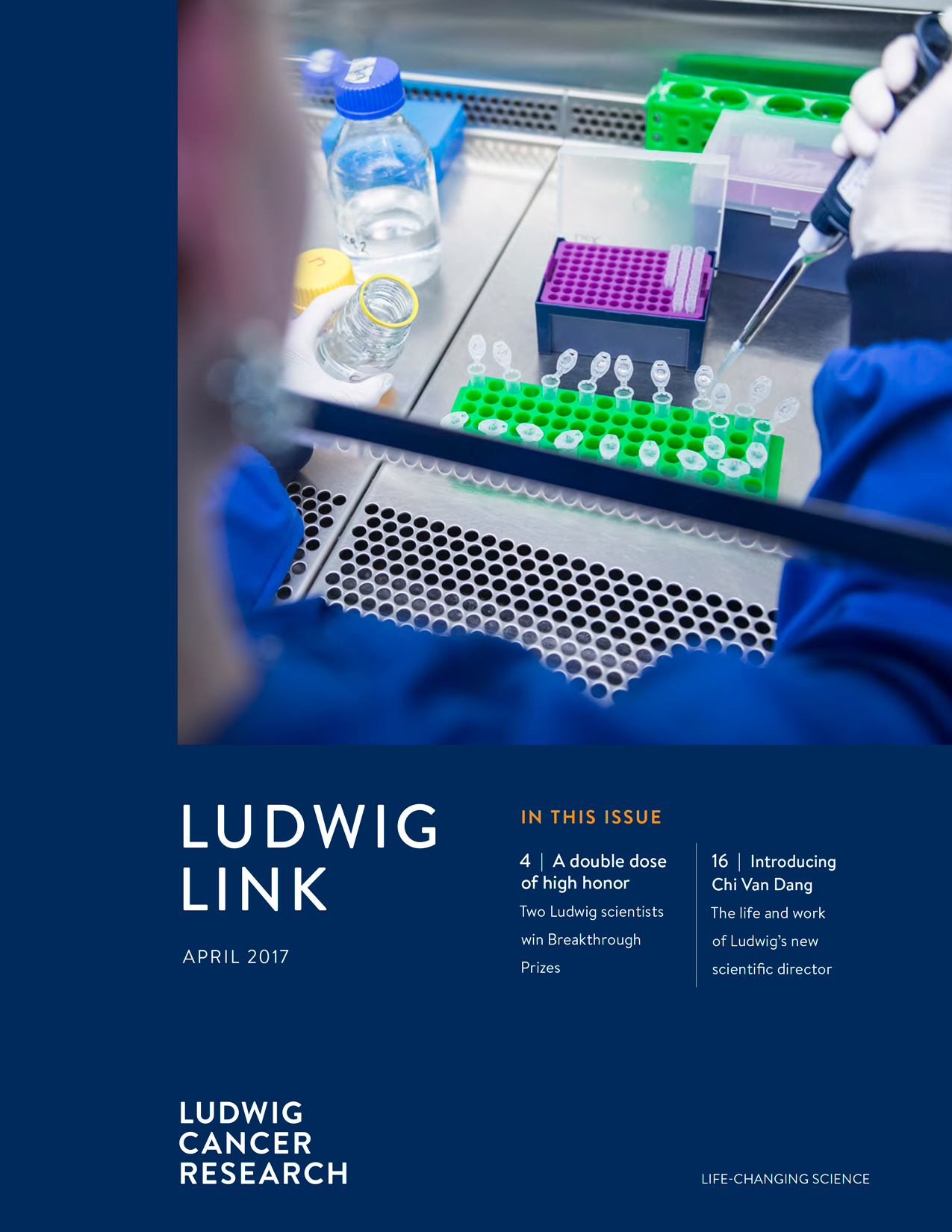Ludwig Link April 2017 cover