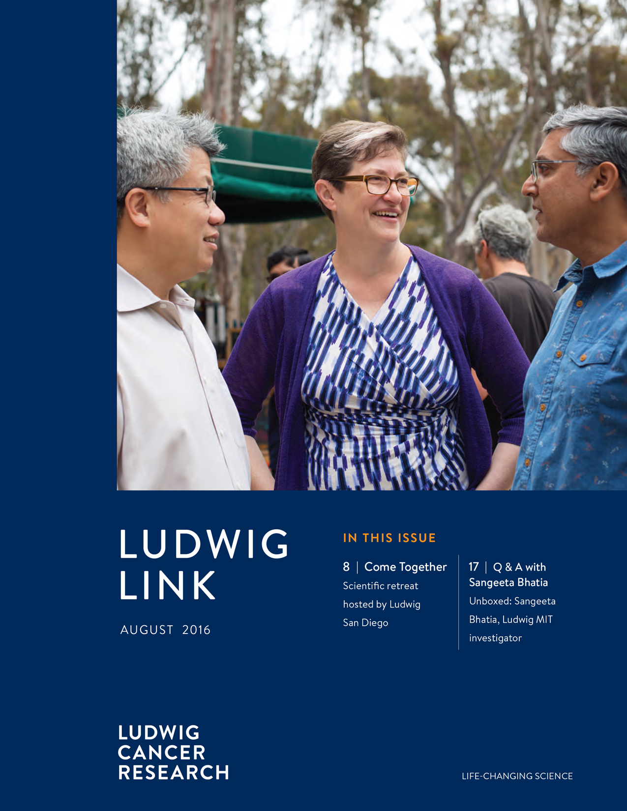 Ludwig Link August 2016 cover