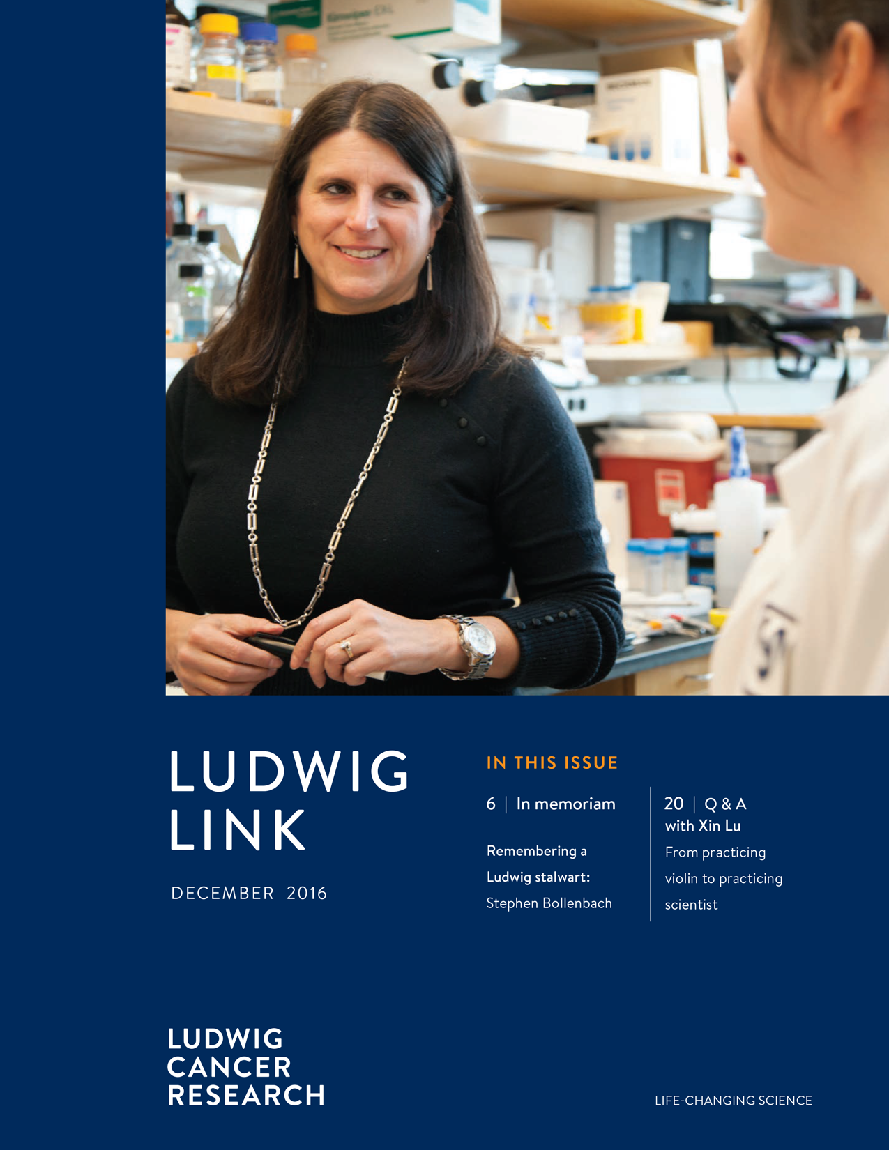 Ludwig Link December 2016 cover