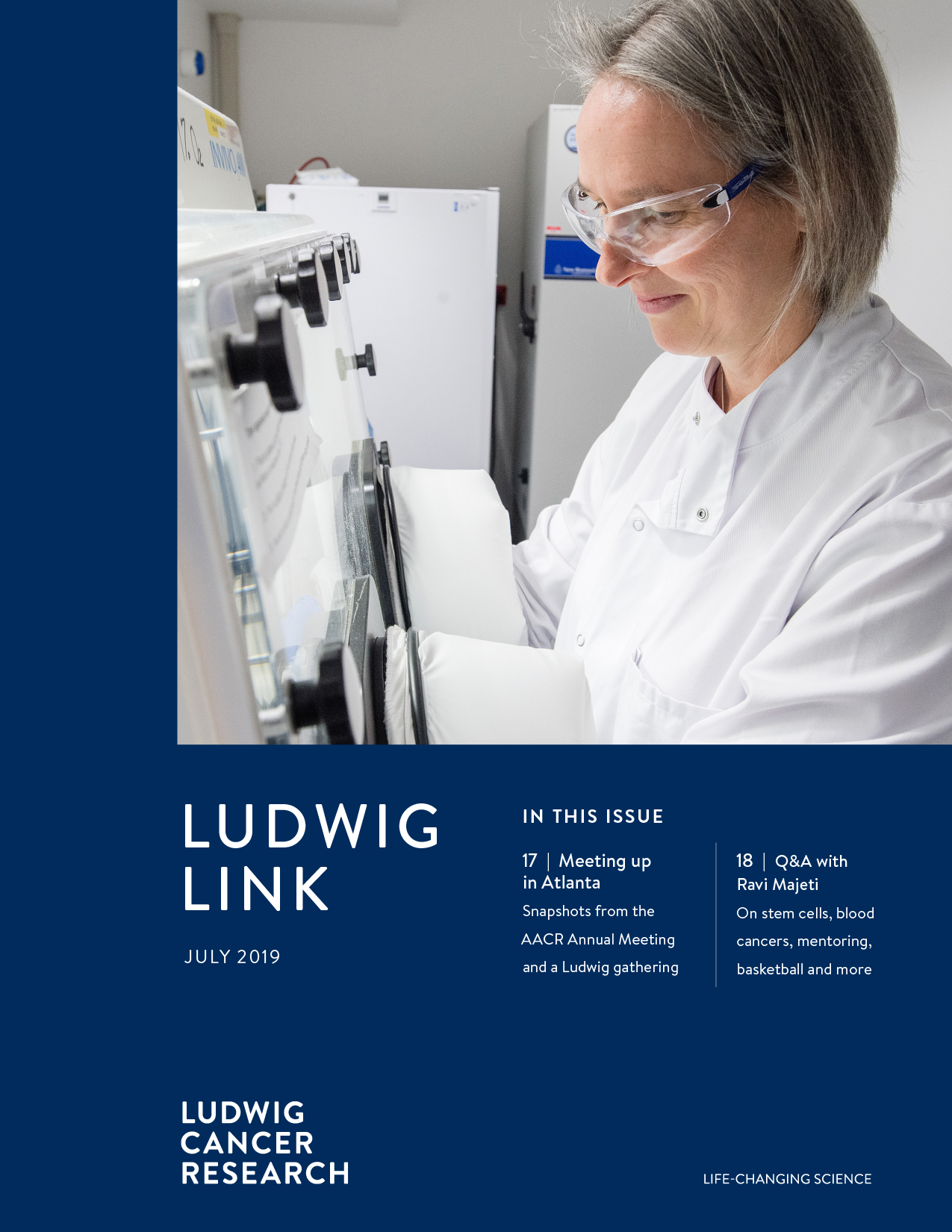 Ludwig Link July 2019 cover