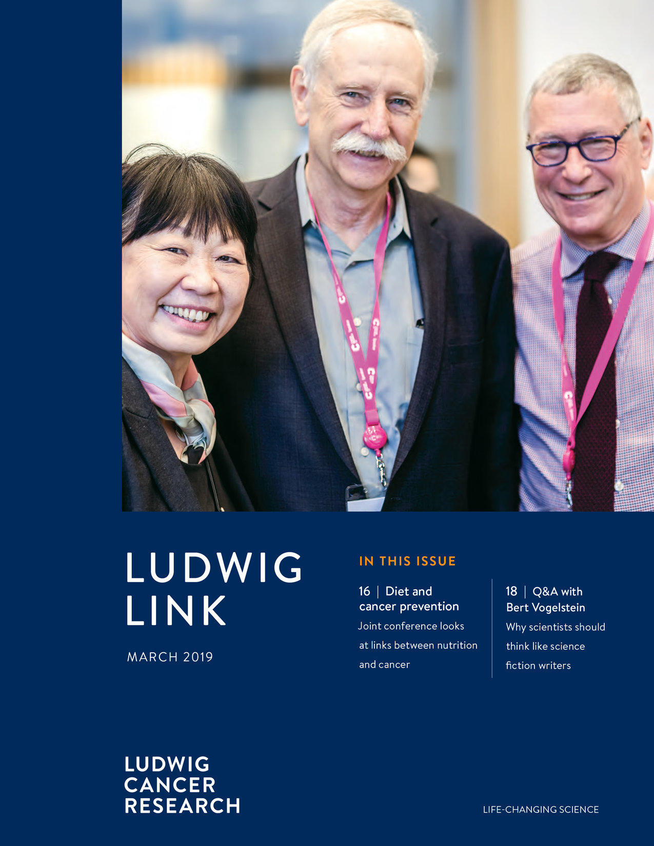 Ludwig Link March 2019 cover