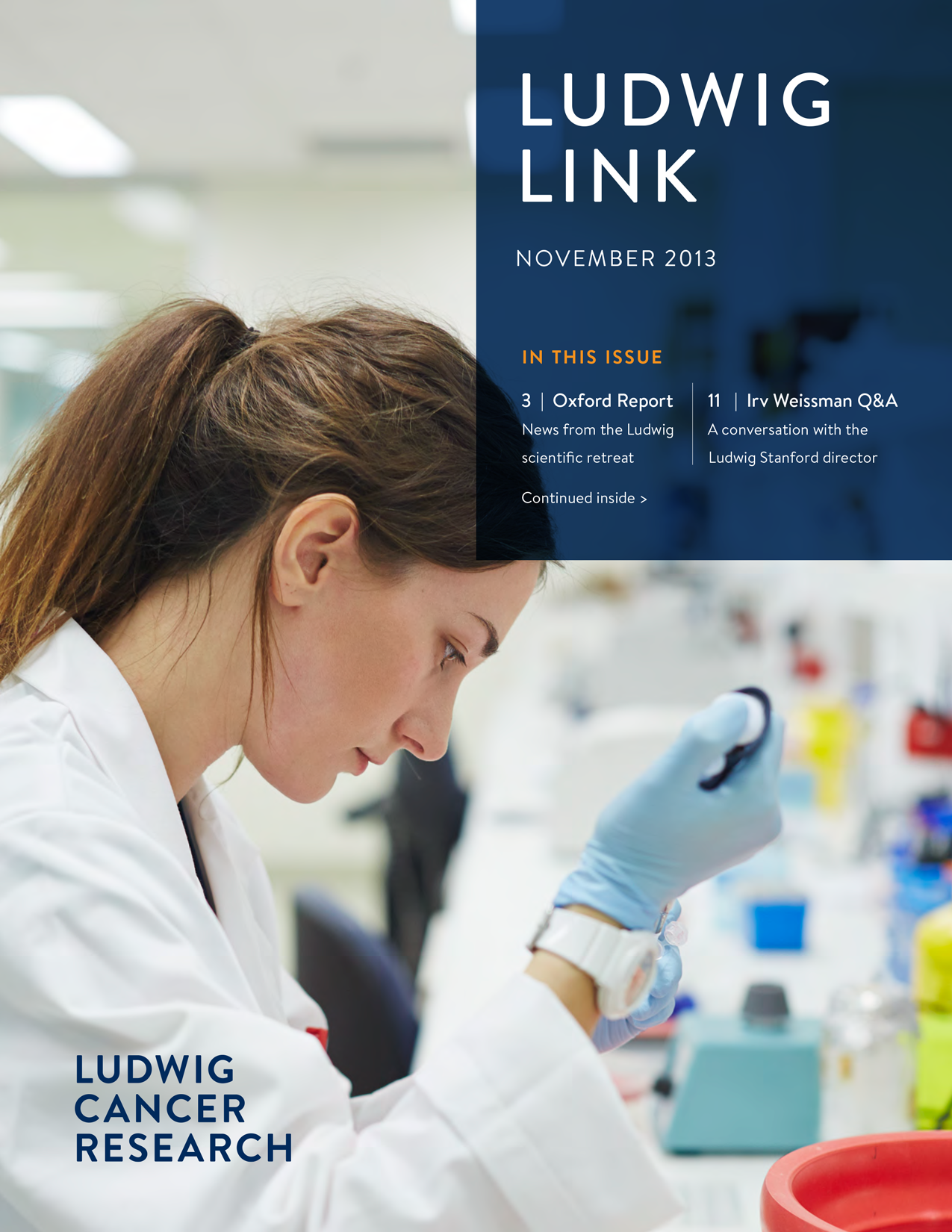Ludwig Link November 2013 cover