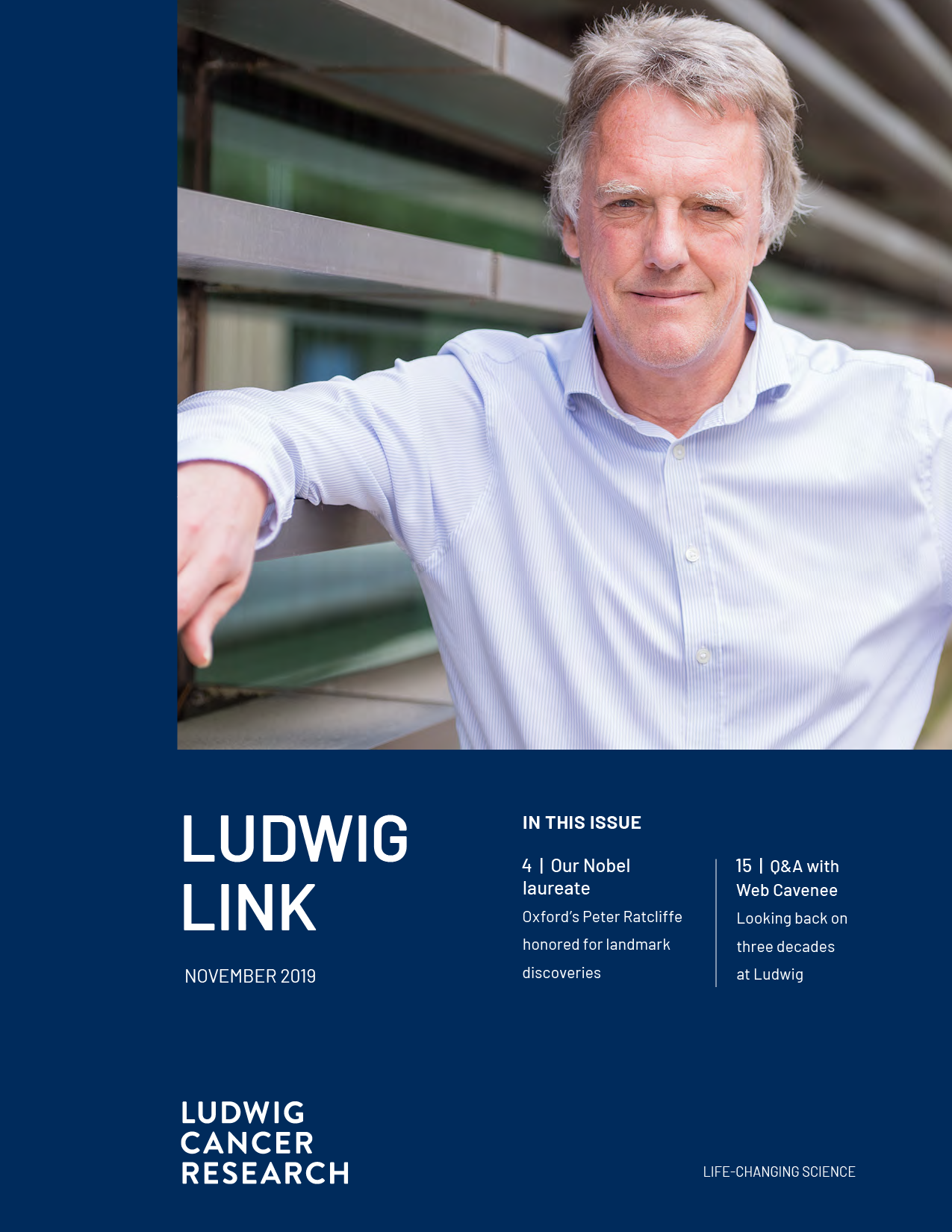 Ludwig Link November 2019 cover