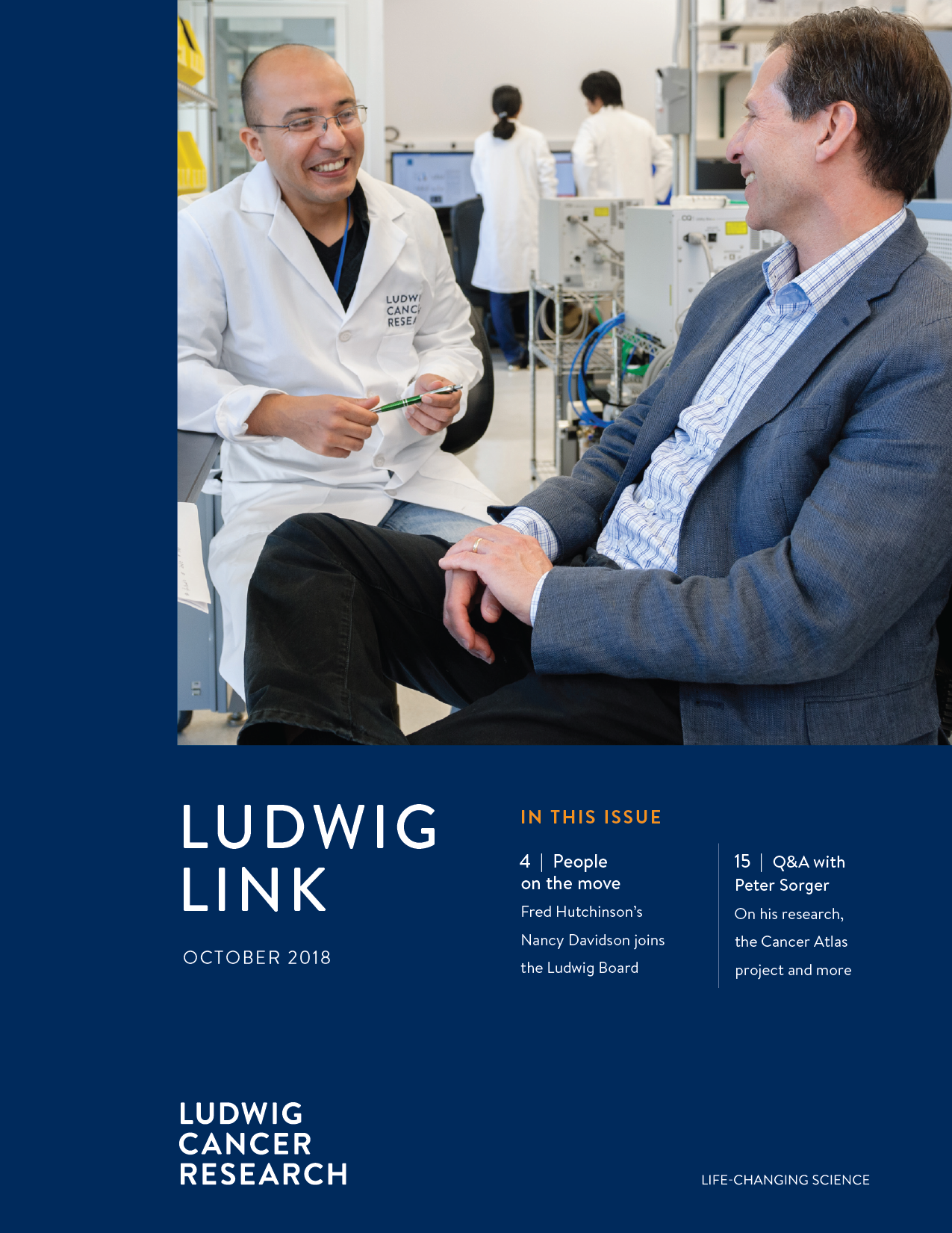 Ludwig Link October 2018 cover