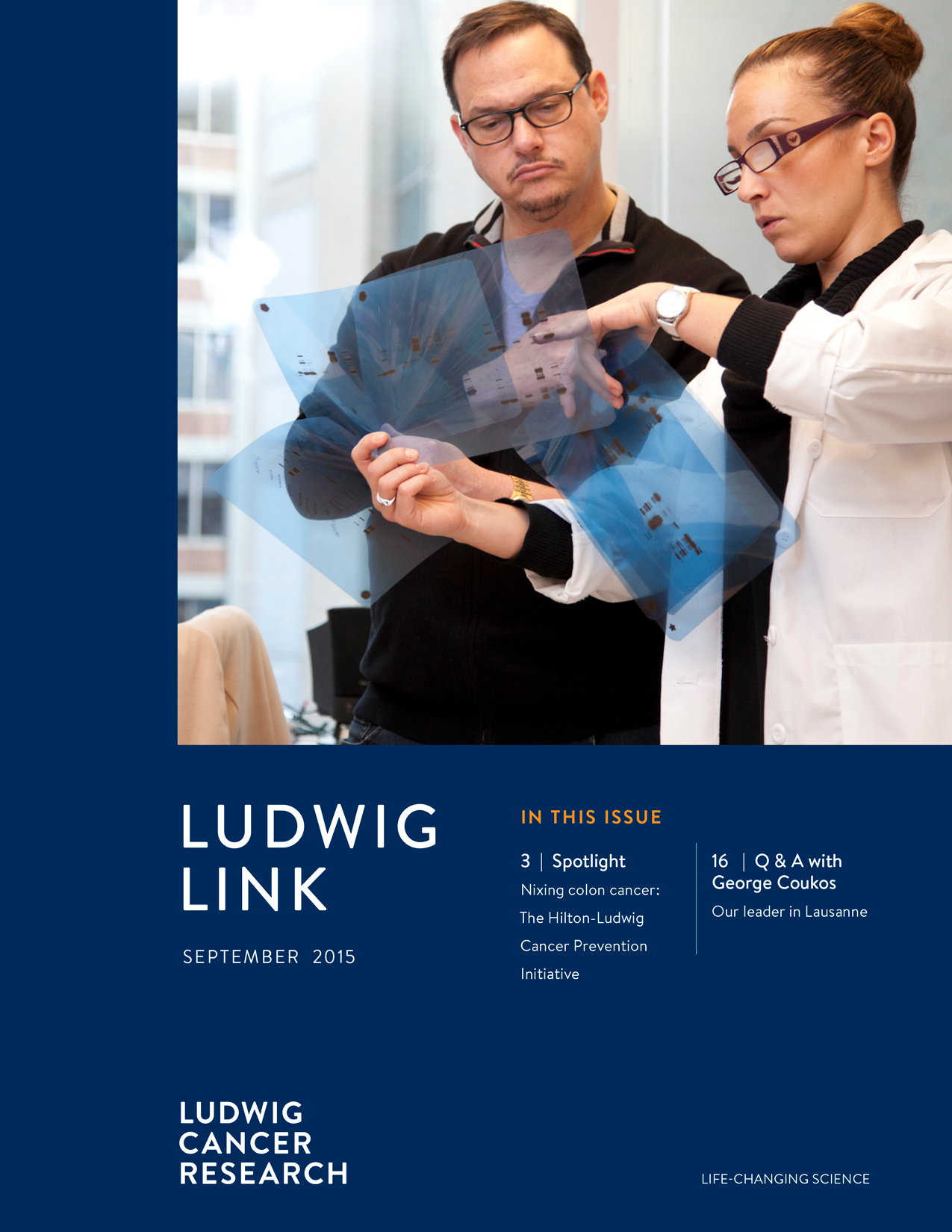 Ludwig Link September 2015 cover
