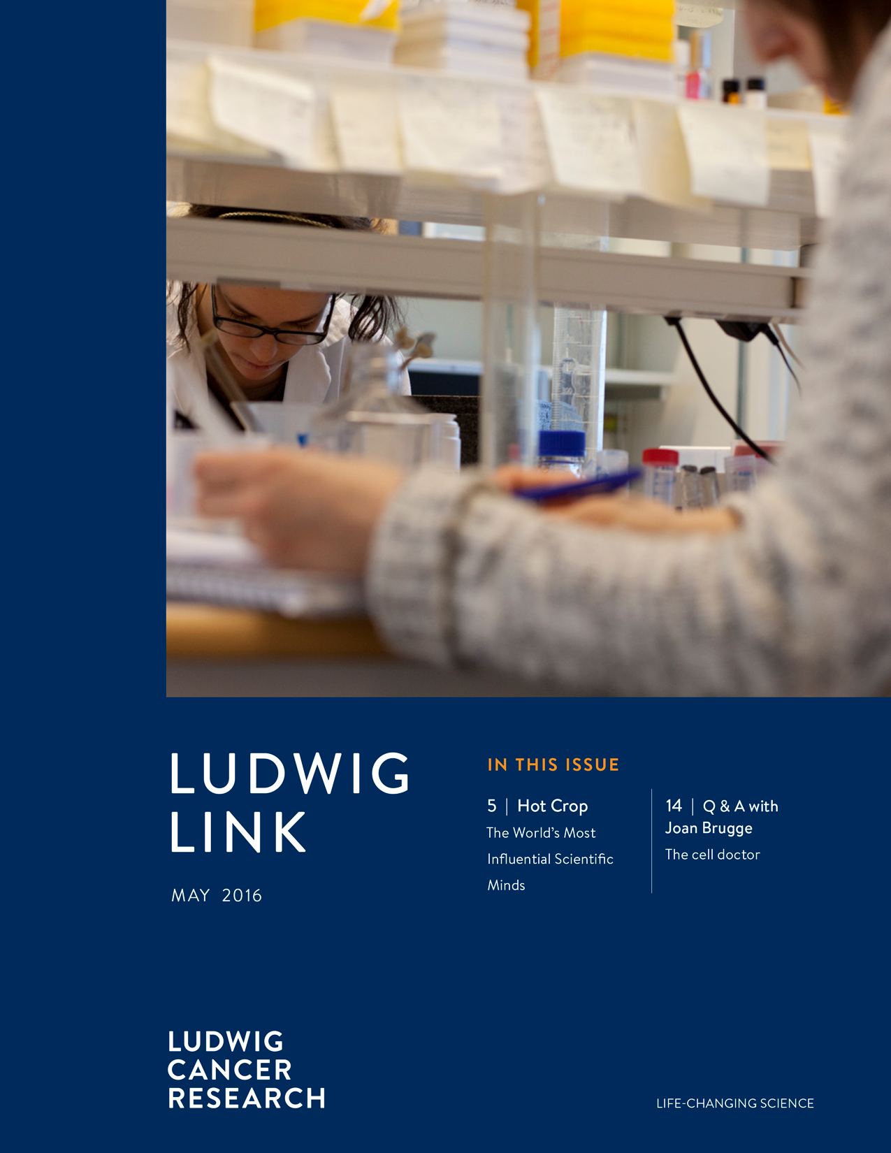 Ludwig Link May 2016 cover